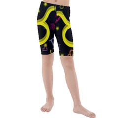 Taurus Floating Zodiac Sign Kid s swimwear