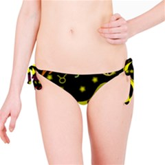 Taurus Floating Zodiac Sign Bikini Bottoms