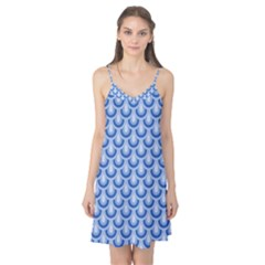Awesome Retro Pattern Blue Camis Nightgown