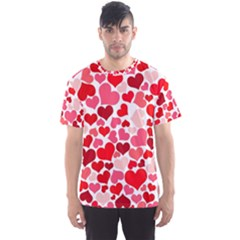 Heart 2014 0937 Men s Sport Mesh Tees