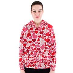 Heart 2014 0937 Women s Zipper Hoodies