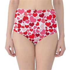 Heart 2014 0937 High-Waist Bikini Bottoms
