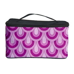 Awesome Retro Pattern Lilac Cosmetic Storage Cases