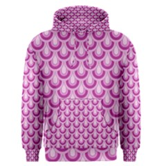 Awesome Retro Pattern Lilac Men s Pullover Hoodies