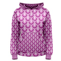 Awesome Retro Pattern Lilac Women s Pullover Hoodies