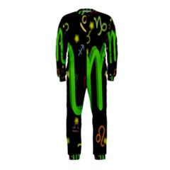 Scorpio Floating Zodiac Sign OnePiece Jumpsuit (Kids)