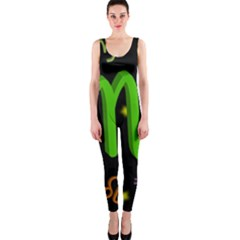 Scorpio Floating Zodiac Sign Onepiece Catsuits