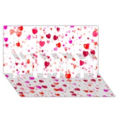 Heart 2014 0601 #1 MOM 3D Greeting Cards (8x4)