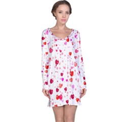 Heart 2014 0601 Long Sleeve Nightdresses