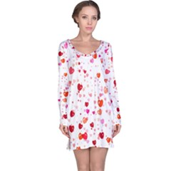 Heart 2014 0602 Long Sleeve Nightdresses
