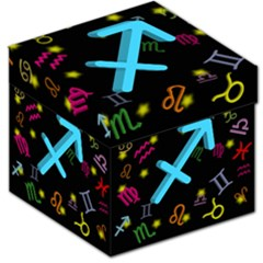 Sagittarius Floating Zodiac Sign Storage Stool 12