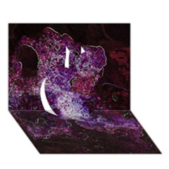 Space Like No 1 Apple 3d Greeting Card (7x5)