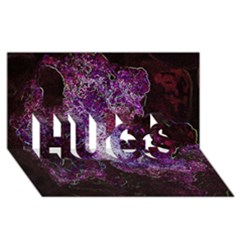 Space Like No.1 HUGS 3D Greeting Card (8x4)