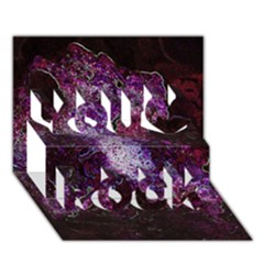 Space Like No 1 You Rock 3d Greeting Card (7x5)