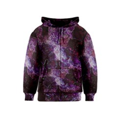 Space Like No.1 Kids Zipper Hoodies