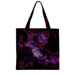 Space Like No.1 Zipper Grocery Tote Bags