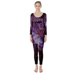 Space Like No 1 Long Sleeve Catsuit