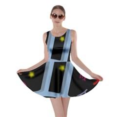 Gemini Floating Zodiac Sign Skater Dresses