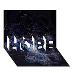 Space Like No 3 Hope 3d Greeting Card (7x5)