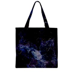 Space Like No.3 Zipper Grocery Tote Bags