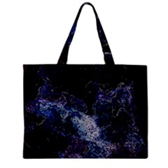 Space Like No.3 Zipper Tiny Tote Bags