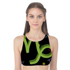 Capricorn Floating Zodiac Sign Tank Bikini Top