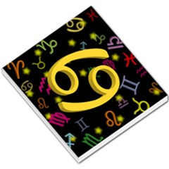 Cancer Floating Zodiac Sign Small Memo Pads