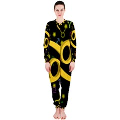Cancer Floating Zodiac Sign OnePiece Jumpsuit (Ladies)