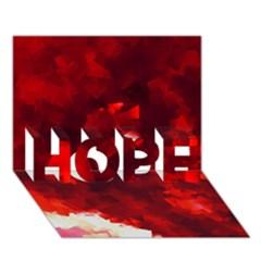 Space Like No.4 HOPE 3D Greeting Card (7x5)
