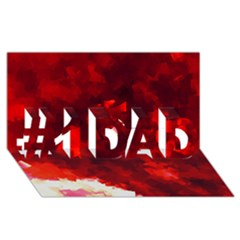 Space Like No.4 #1 DAD 3D Greeting Card (8x4)