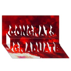Space Like No 4 Congrats Graduate 3d Greeting Card (8x4)