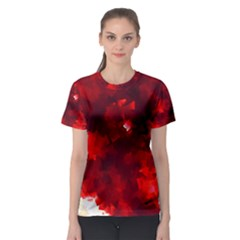 Space Like No.4 Women s Sport Mesh Tees