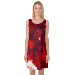 Space Like No 4 Sleeveless Satin Nightdresses