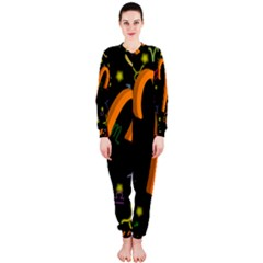 Aries Floating Zodiac Sign OnePiece Jumpsuit (Ladies)