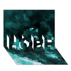 Space Like No.5 HOPE 3D Greeting Card (7x5)