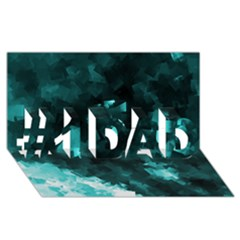 Space Like No 5 #1 Dad 3d Greeting Card (8x4)