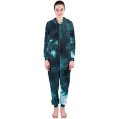 Space Like No.5 Hooded Jumpsuit (Ladies)