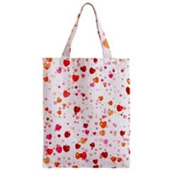 Heart 2014 0603 Zipper Classic Tote Bags
