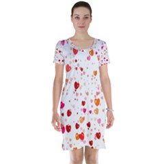 Heart 2014 0603 Short Sleeve Nightdresses