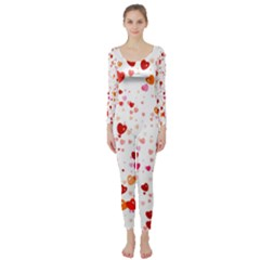 Heart 2014 0603 Long Sleeve Catsuit
