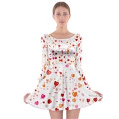 Heart 2014 0603 Long Sleeve Skater Dress