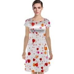 Heart 2014 0603 Cap Sleeve Nightdresses