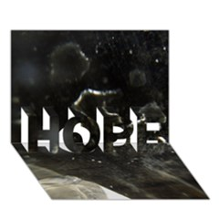 Space Like No.6 HOPE 3D Greeting Card (7x5)