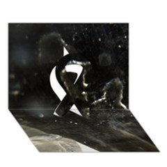 Space Like No.6 Ribbon 3D Greeting Card (7x5)