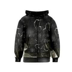 Space Like No.6 Kids Zipper Hoodies