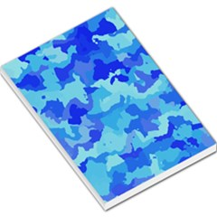 Camouflage Blue Large Memo Pads