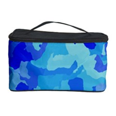 Camouflage Blue Cosmetic Storage Cases