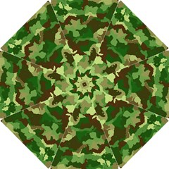 Camouflage Green Hook Handle Umbrellas (Small)