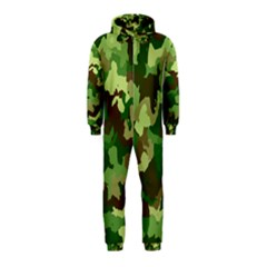 Camouflage Green Hooded Jumpsuit (kids)
