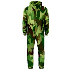 Camouflage Green Hooded Jumpsuit (Men)